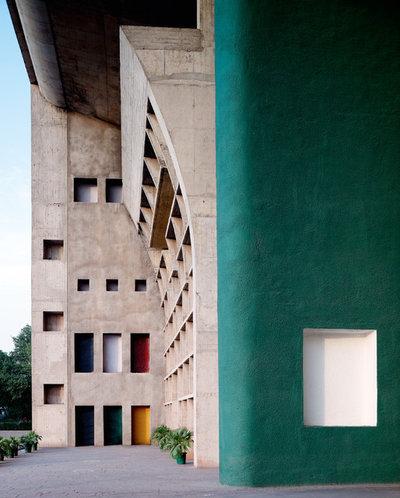 Contemporary Exterior by Association des Sites Le Corbusier