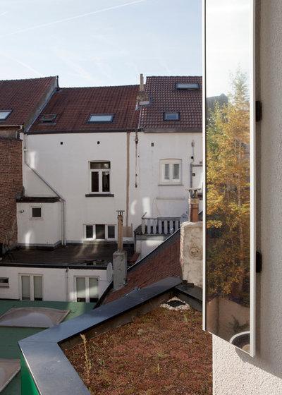 architecture maison upgreen une maison flamande devient durable. Black Bedroom Furniture Sets. Home Design Ideas
