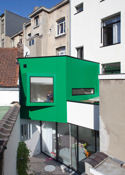 Architecture : Maison-Upgreen, Une Maison Flamande Devient Durable