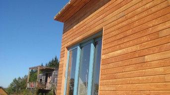 Construction maison bois à Faux la Montagne