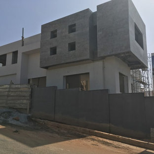 Photos d 39 architecture et id es d co de fa ades de maisons modernes maroc for Construction villa casablanca