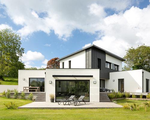 Couleur faade maison moderne facade de maison facade de for Choisir couleur facade maison