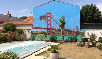 Décoration Mural Jardin 80m2