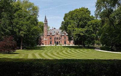 Houzz Бельгия: Сказочная жизнь в замке Спикер рядом с Брюгге