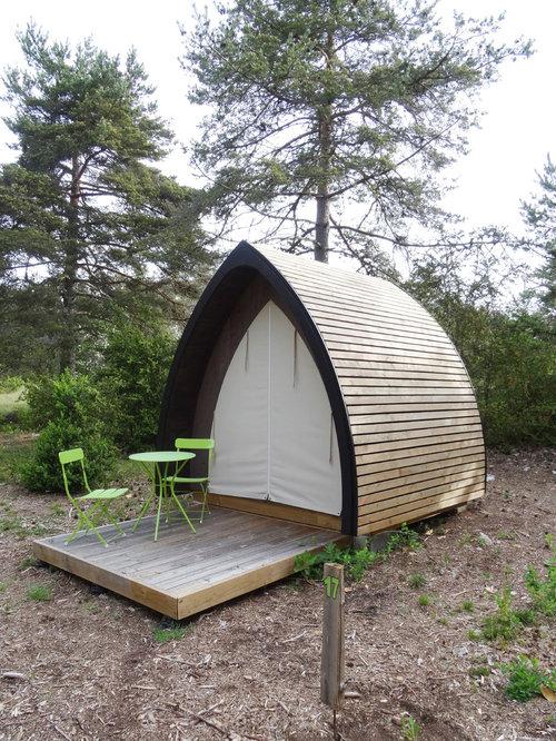 Eco-camping: Le Cun du Larzac