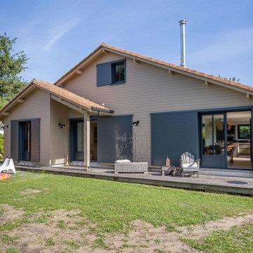 EN COURS transformation d'une maison de vacances à ANDENOS-LES-BAINS 33510