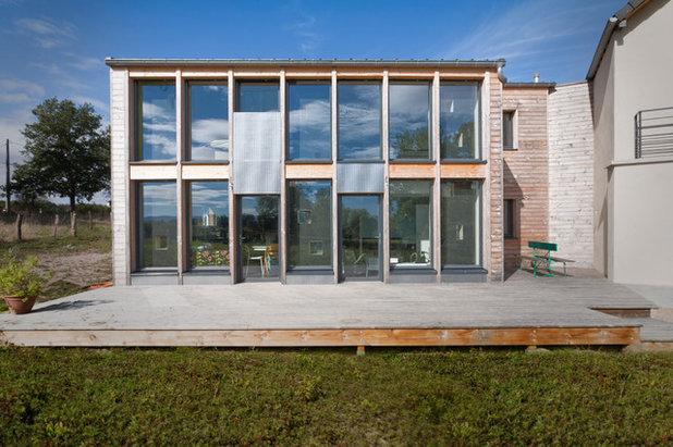 architecture une extension bioclimatique pour un ancien moulin. Black Bedroom Furniture Sets. Home Design Ideas