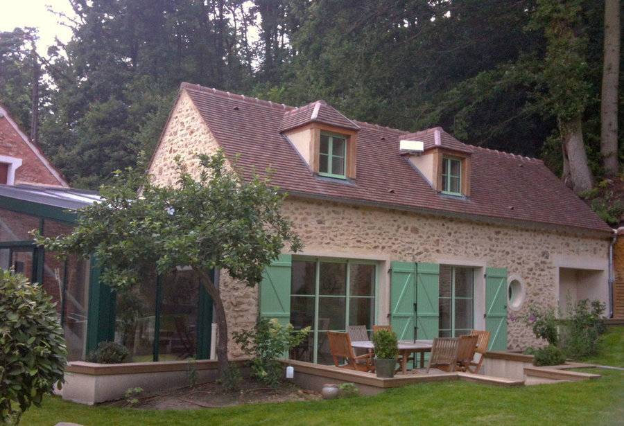 Extension de maison en Vallée de Chevreuse