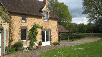 Extension intérieure et extérieure d'une maison de campagne