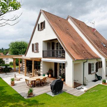 Extension, réaménagement d'une maison