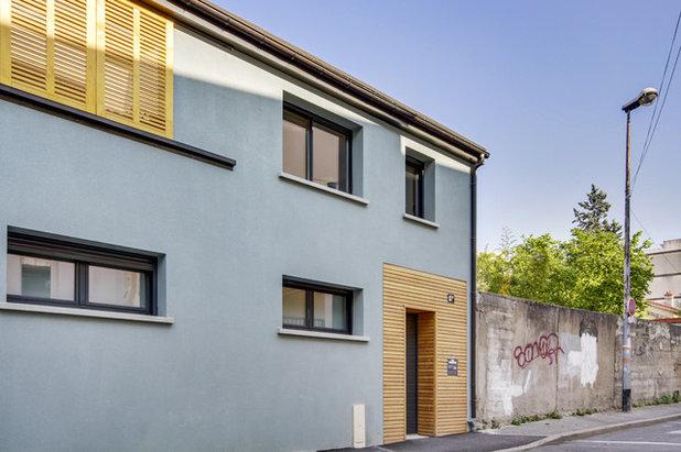 Contemporain Façade by Agence d'Architecture SCA