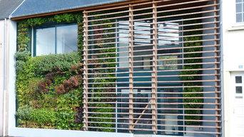 Façade végétalisée / Mur végétal extérieur VERTICAL FLORE
