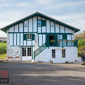Ferme Basque interieur / exterieur