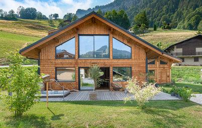 Architecture : En Savoie, une maison bien connectée à la nature