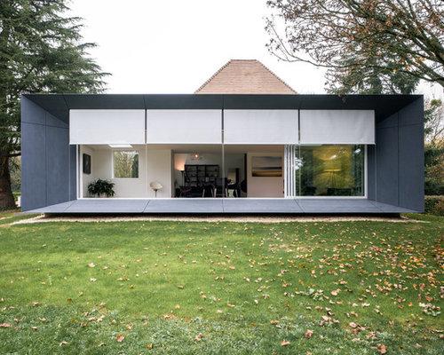 Photos Darchitecture Et Idées Déco De Façades De Maisons De Taille - Taille moyenne d une maison