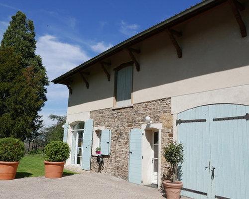 Photos d 39 architecture et id es d co de fa ades de maisons renover maison - Renover facade de maison ...