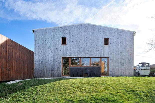 Contemporain Façade by Fabien Perret et associés architecte