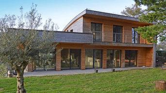 Maison contemporaine à Sarzeau
