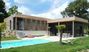 Maison contemporaine bois Le K