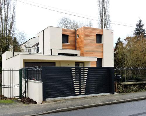 Maison Cube Toit Plat  Orsay