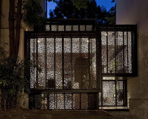 Jali Screen Home Design Ideas, Renovations & Photos