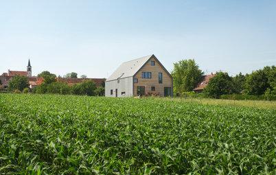 Architecture : Une famille choisit le durable dans un village alsacien