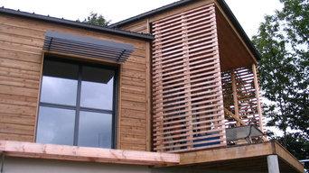 Maison ossature bois à Hennebond