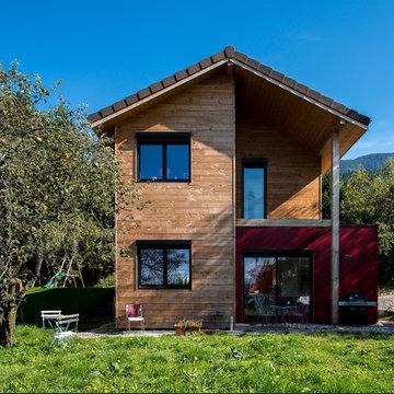 Maison ossature bois Saint Martin d'Uriage