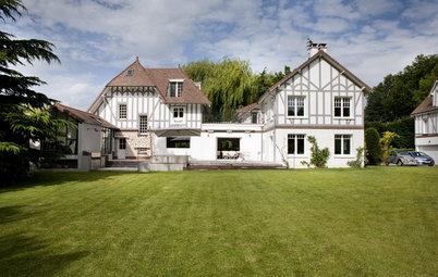 Houzz Франция: Переделка и реконструкция особняка в Виллен-сюр-Сен