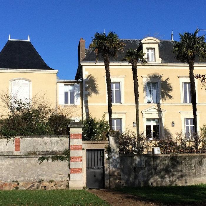 Entretien de façade d'une maison des bords de Loire