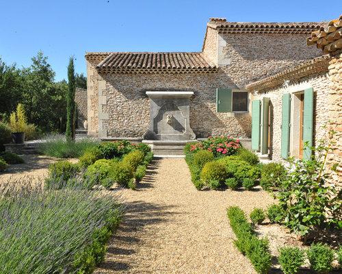 Photos d 39 architecture et id es d co de fa ades de maisons for Exterieur provencal