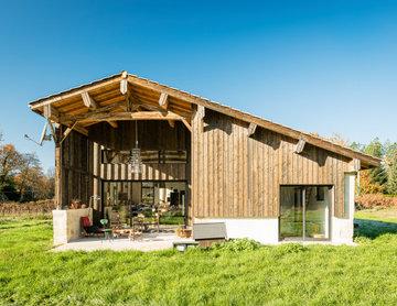 Réhabilitation d'une Grange par Frédéric Brillet
