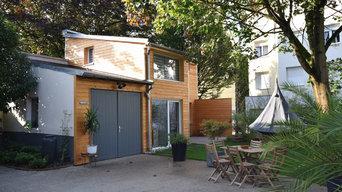 Réhabilitation d'une remise de jardin en duplex T2