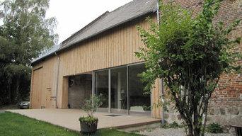 Réhabilitation et extension d'une maison à Fontaine-Les-Vervins