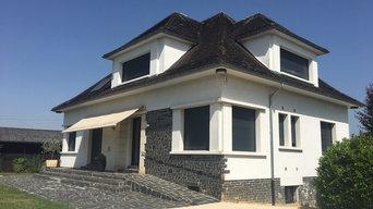 Rénovation d'une maison d'habitation et de son pool-house