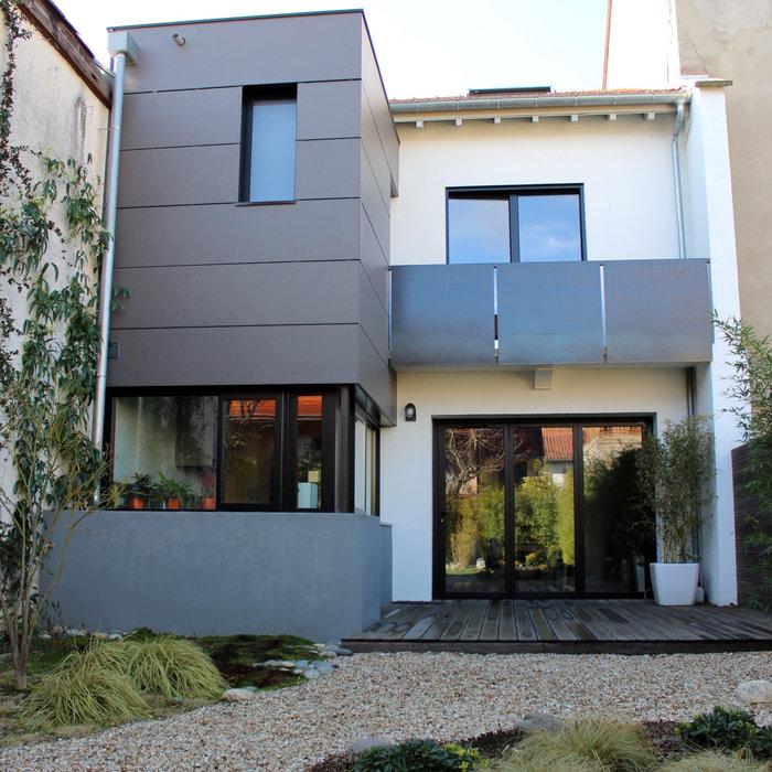 Maison H - Rénovation d'une maison individuelle