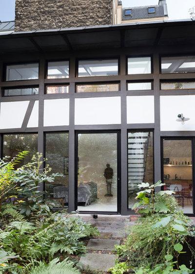 Contemporain Façade by Lagom architectes