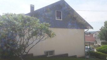 Rénovation de façade à Doubs