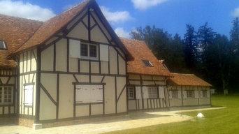 Rénovation façade à la chaux