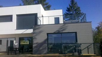 Villa contemporaine à Lyon