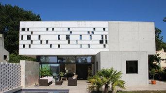 Villa contemporaine dans le Sud de la France