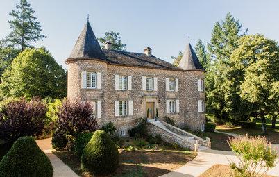 Houzz Tour: Förvandlingen av ett franskt 1400-talsslott