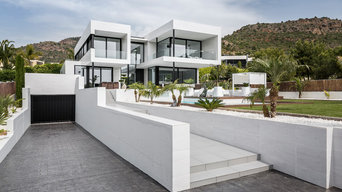 Architettura sulla costa: abitazione unifamiliare