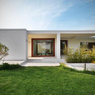 Ispirazione per la facciata di una casa moderna
