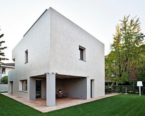 Foto e idee per facciate di case facciata di una casa - Case moderne immagini ...