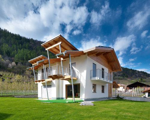 foto e idee per facciate di case facciata di una casa ForPiani Casa Tetto A Capanna