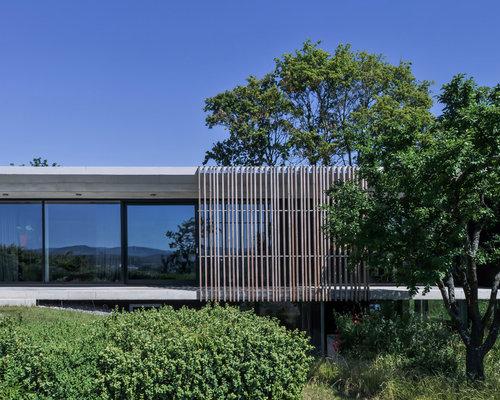 Geräumiges, Einstöckiges Modernes Haus Mit Flachdach In Mailand