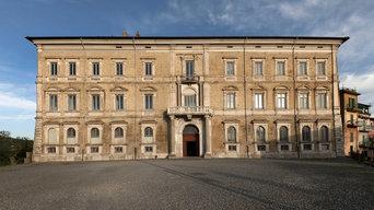 Illuminazione facciata Palazzo Sforza cesarini