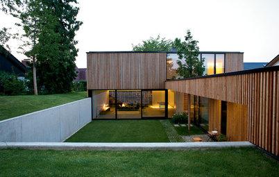 Architektur: Ein Souterrain-Neubau flirtet mit der Natur