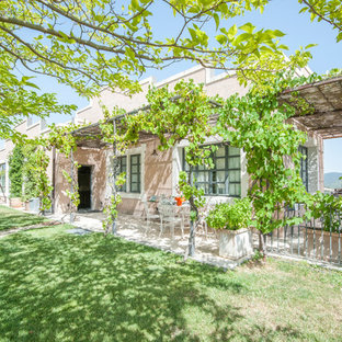Eclectic exterior home photo in Florence